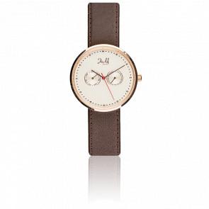 Reloj J&M Rosa Gold