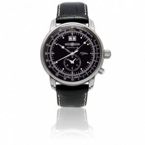 Reloj 100 Jahre Zeppelin Dual Time Groß Datum 7640-2