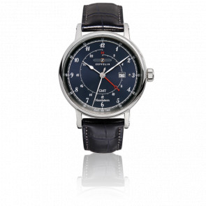 Reloj Nordstern GMT Second Time Zone 7546-3