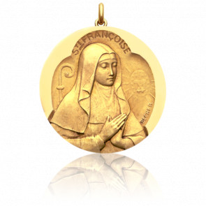 Medalla Santa Francisca de Roma