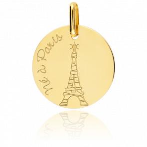 "Medalla Niño ""Né à Paris"""