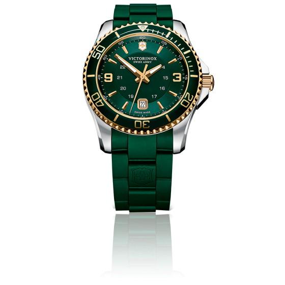 f1dea8339c1a Reloj Victorinox Maverick de acero Verde 241606 - Ocarat