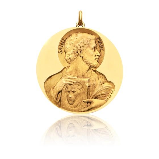 Medalla de oro amarillo San Marcos - Ocarat