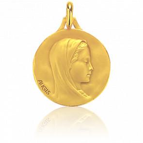 Medalla redonda Virgen María