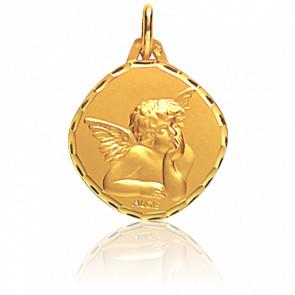 Medalla Ángel Rafael Rombo Oro Amarillo 18K