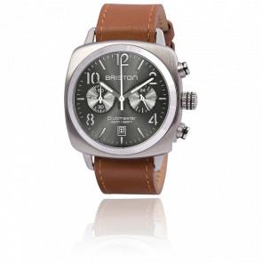 Reloj Clubmaster Crono Date Silver Classic Acero Timeless