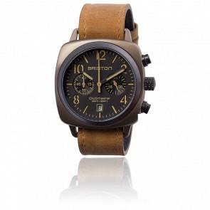 Reloj Clubmaster Crono Date Black Classic Acero Trendsetter