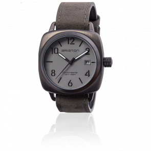 Reloj Clubmaster HMS Date Grey Classic Acero Trendsetters