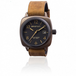 Reloj Clubmaster HMS Date Black Classic Acero Trendsetters