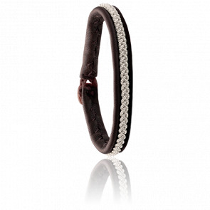 Pulsera Mossa One Chocolate