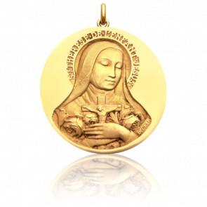 Medalla Santa Teresa de Lisieux