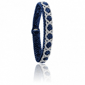 Pulsera Aurore Reptile Azul