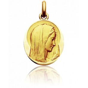 Medalla Virgen Virgo Dulcis Ovalada