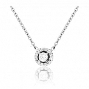 Collar Solstice con Diamantes