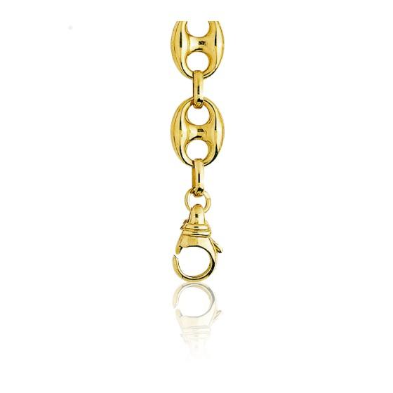 4be5c453a68e Cadena de oro amarillo de tipo calabrote 80 cm - Ocarat