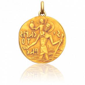 Medalla San Cristóbal de Roch Oro amarillo 18K