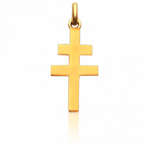 Cruz de Lorraine Oro Amarillo 18K