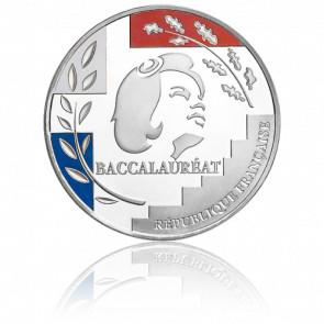 Moneda Baccalauréat Plata Tricolor