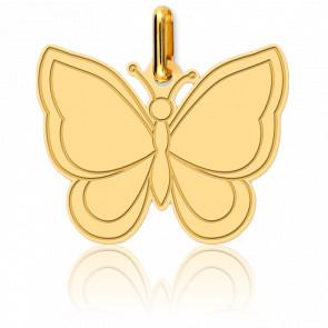 Colgante Mariposa Oro Amarillo 18K