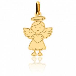 Colgante Ángel niña Oro Amarillo 18K