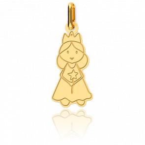 Colgante Hada Oro Amarillo 18K