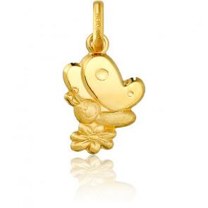 Colgante Mariposa Oro Amarillo 9K