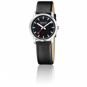 Reloj Simply Elegant Todo Negro 36 mm