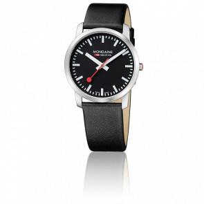 Reloj Simply Elegant Todo Negro 41 mm