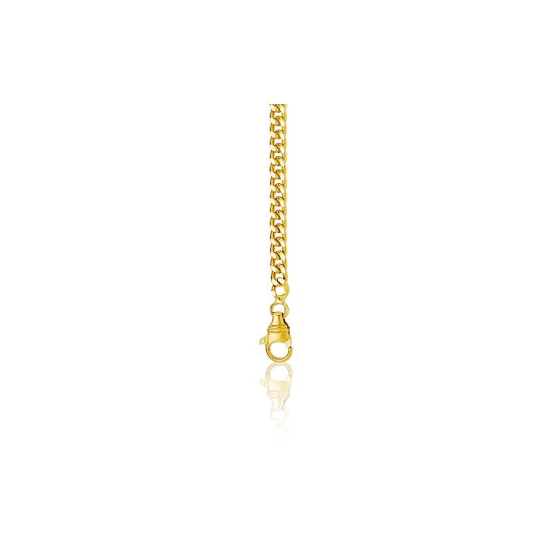 1bc5b3436427 Cadena de oro amarillo 9kts tipo barbada 80 cm - Manillon - Ocarat