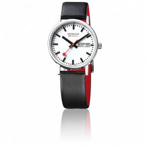 Reloj Classic Día& Fecha Negro 36 mm