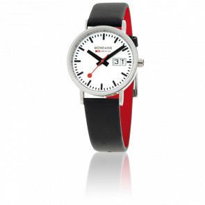 Reloj Classic Big Date Negro 33 mm