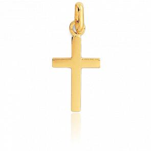 Colgante Cruz de Oro Amarillo 18K