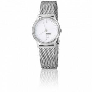 Reloj Helvetica No1 Ligth Malla Milanesa 26 mm