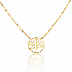 Collar Árbol de la Vida Ø 12 mm Dorado