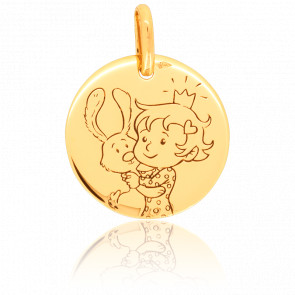 Medalla Magnífica Naturaleza Oro Amarillo 9K
