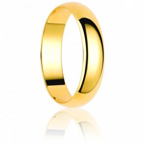 Alianza Sulluna 4 mm Oro Amarillo