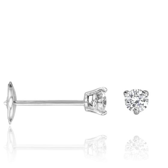 a8d6019c574c Pendientes diamante y oro blanco de 18K - Ocarat