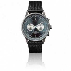 Reloj Ash Nevil Black Leather