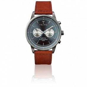 Reloj Ash Nevil Brown Leather