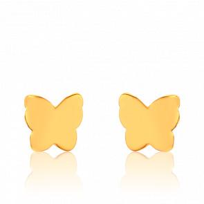 Pendientes Mariposa Dorados