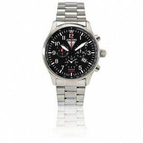 Reloj Serie Hugo Junkers Cronógrafo Alarma 6684M-2