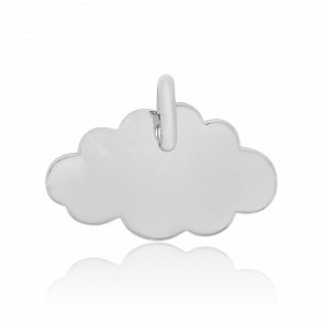 Colgante Little Cloud Oro Blanco 18K