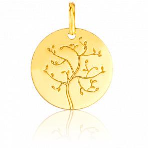 Colgante Árbol de la Vida Oro Amarillo 18K