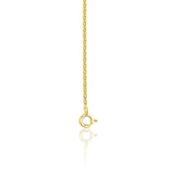 157913aed242 Cadena de oro amarillo 18k Espiga Abierta 45 cm - Ocarat