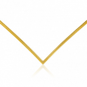 Cadena Omega V 45 cm Oro Amarillo 18K