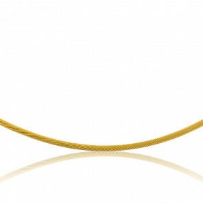 Collar Acordonado Tatiana 50 cm Oro Amarillo 18K