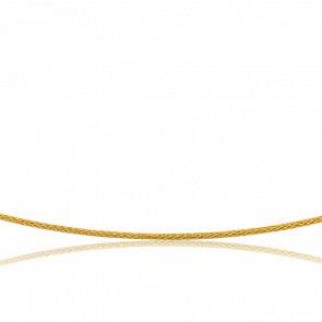 Collar acordonado Varna 45 cm Oro Amarillo 18K