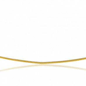Collar Cable Cléophée 42 cm Oro Amarillo 18K