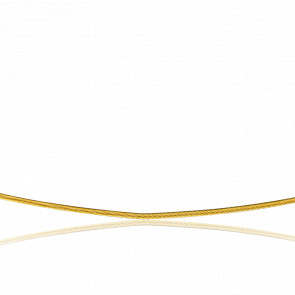 5b529b6c8213 Buelling Collar Acordonado Cléophée 45 cm Oro Amarillo 18K