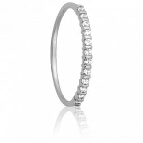 Alianza Inspiration Oro Blanco y diamantes 0.12 carat